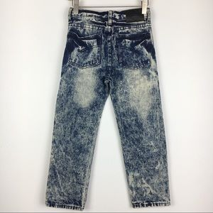 Road Narrows Bottoms - Road Narrows Destroyed Acid Wash Jeans Boys Size 7